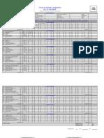 Recor Academico Del Plan 1997-2001