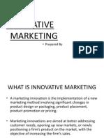 FINAL Innovative Marketing