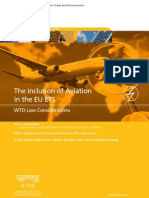 The Inclusion of Aviation in the Eu Ets Wto Law Considerations