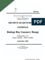 Bodega Bay Gunnery Range