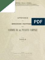 Cannone 105-28 Pesante Campale 1917