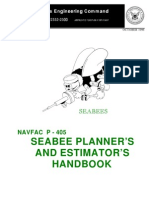 P405 Seabee Planners and Estimators Handbook