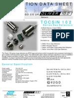 Tocsin 102 Series Gas Detectors