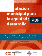Tributacion Municipal Para La Equidad y El Desarrollo (1)
