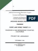 Cadiz Lake Bombing Range No. 8