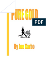 Pure Gold Joe Karbo