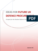Shadow Defence Team on Procurement