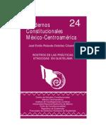 Ordo±ez Jose Emilio - Rostros De Las Practicas Etnocidas En Guatemala