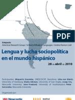 Lengua y Lucha Sociopoltica en El Mundo Hispnico[1]