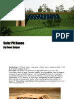 Solar Pit House PDF