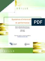 Systèmes d'information et performance[1]. Partie 2  Etude bibliométrique