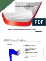 Maintenance Manual Training Presentation_R.A