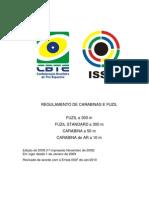 Issf Regulamento Carabina Item 7 tamanho das armas e dispositivos permitidos em competição