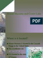 Mount Mazama and Crater Lake
