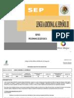 Programa Analítico INTERCULTURAL Inglés III 2013-B