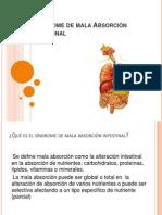 Síndrome de mala Absorción intestinal(bioquimica)
