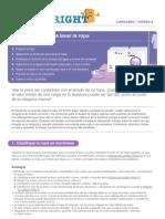 Guía Detallada Para Lavar la Ropa - Clean Right