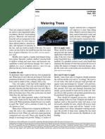 (Gardening) Watering Trees