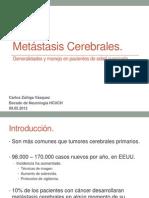 Seminario Metastasis Cerebrales