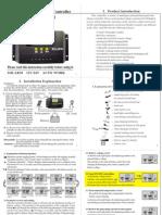 Solar Regulator 30A 12V24V Manual