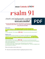 Do RCs Know Psalm 91