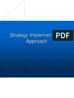 Strategy Implementation Approach