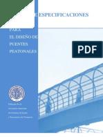 AASHTO Guía de Especificaciones para Puentes Peatonales 1997