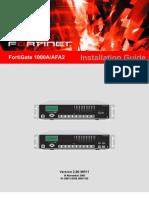 01-28011-0258-20051116_FortiGate-1000A_AFA2_Installation_Guide