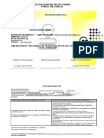 SECUENCIA DIDÁCTICA 1RA. INFORMATICA I 2012-B