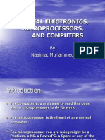 Digital Electronics, Microprocessors