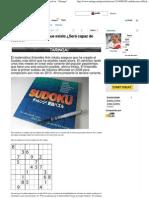 El sudoku más difícil que existe