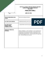 Kertas Tugasan 4. Perform on-site Equipment Testing (Checklist)