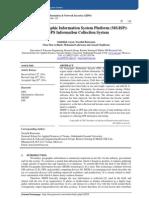 Mobile Geographic Information System Platform (MGISP)