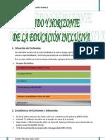 Educación inclusiva y adaptaciones curriculares
