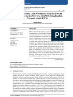 Broadcasting Traffic Load Performance Analysis of 802.11  MAC in Mobile Ad hoc Networks (MANET) Using Random  Waypoint Model (RWM)