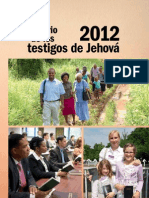 Anuario de los testigos de Jehová 2012