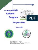 TAP Program Plan - Chemtrails