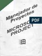 Microsoft Proyect - Manejador d Proyectos