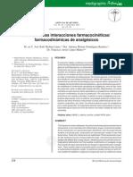 Utilidad de las interacciones farmacocinéticas de los AINES