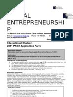 2011 International Application