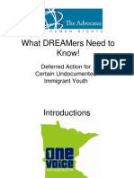 What Dreamers Need to Know