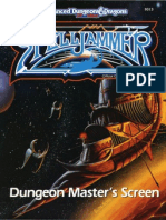 AD&D - 2nd Ed. - Spelljammer - Dungeon Master's Screen (SJR3) (TSR 9313)