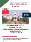0 000 0 0Embedded System 8th Sem E&C Notes Written by Arunkumar G, Lecturer, STJIT, Ranebennur