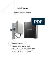 Gemtek IDU ODU WEB-UI User Manual v1.2