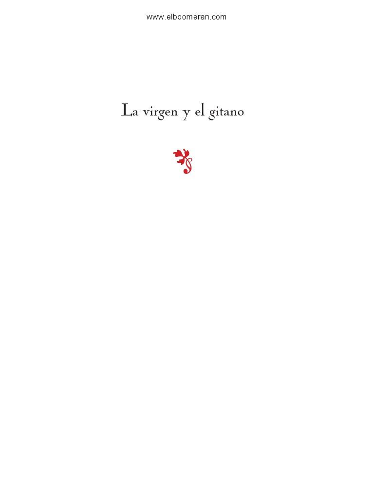 La Virgen y El Gitano | Editorial | Amor