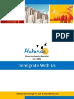 Abhinav Immigration Catalogue