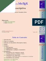 Matex descriptiva