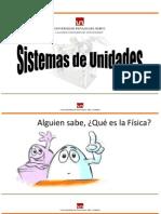 Sesion 1 - Sistemas de Unidades