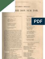 Lishana.org - Proverbios morales - Shem Tob de Carrión