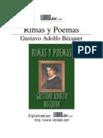 Becquer, Gustavo Adolfo - Rimas y Poemas